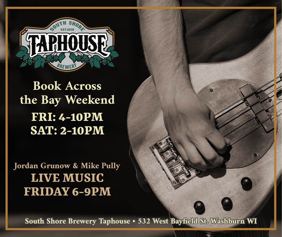 A branded promotional graphic for an event at the Taphouse.